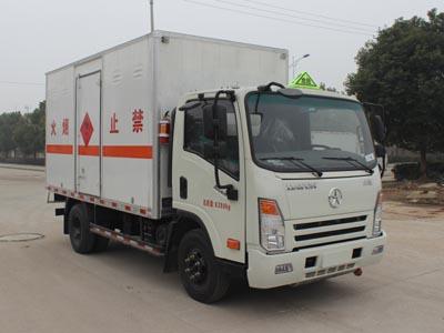 (厢长4.14米)大运易燃液体厢式运输车