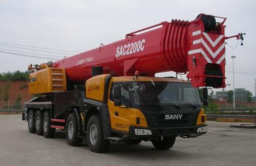 SYM5551JQZ(SAC2200C)全地面起重机