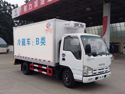 程力威牌冷藏车(CLW5040XLCQ5)产品细节及车型解读