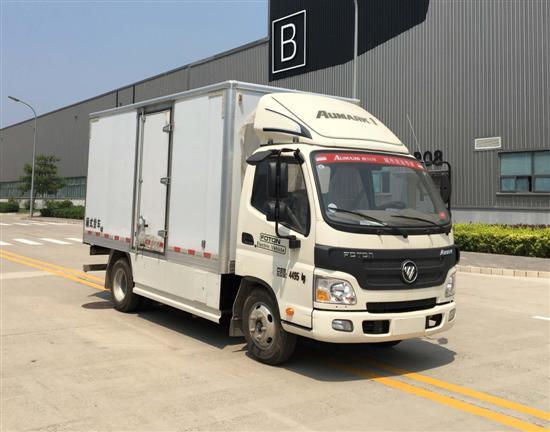 BJ5049XXYEV5纯电动厢式运输车