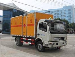 东风大多利卡易燃气体厢式运输车