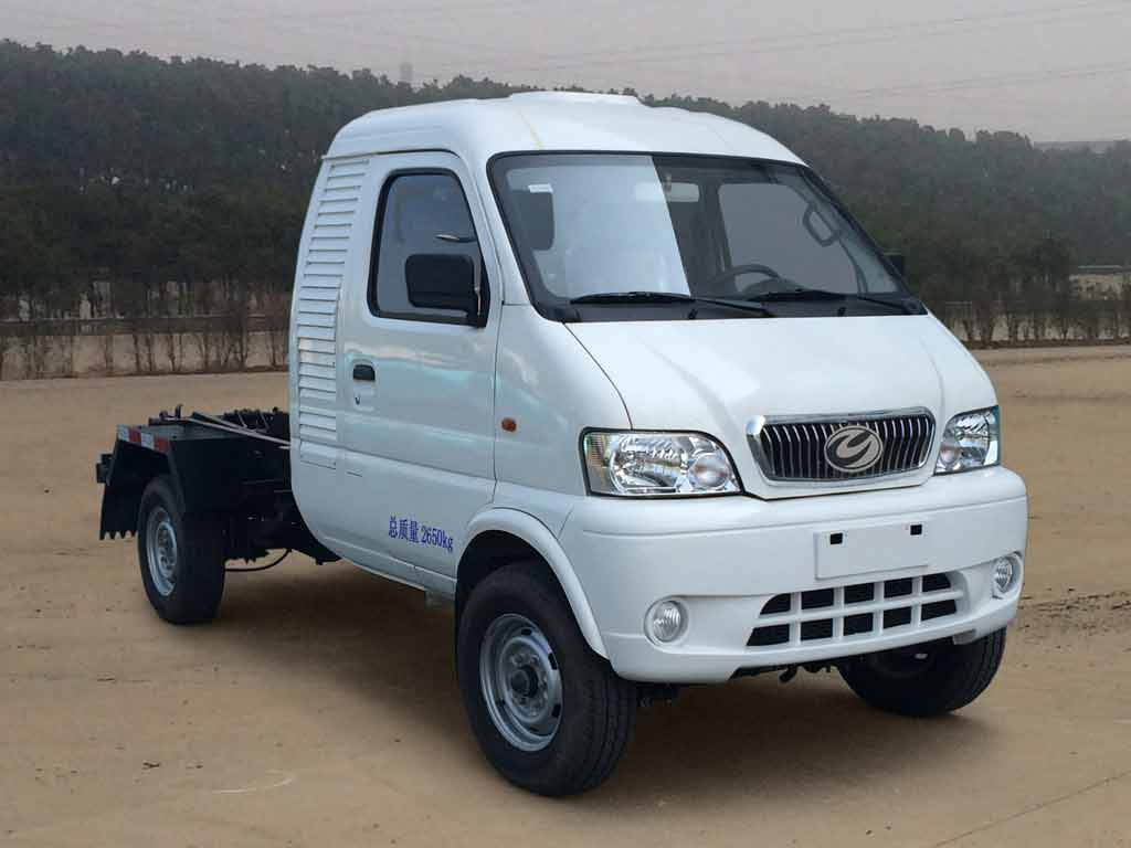 ZYP5030ZXXBEV1纯电动车厢可卸式垃圾车