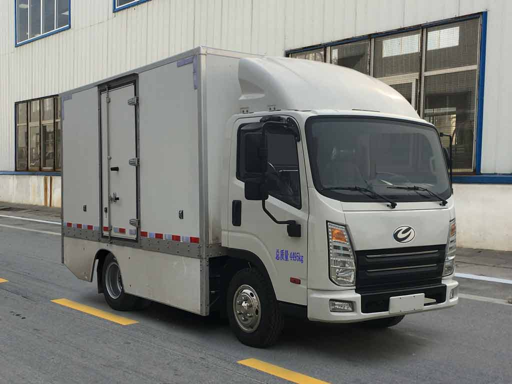 ZYP5042XXYBEV纯电动厢式运输车