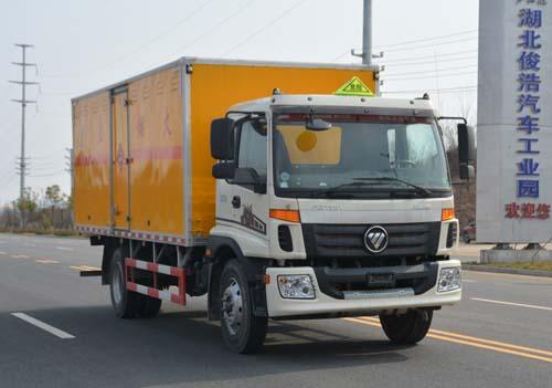 JHW5161XRYB易燃液體廂式運輸車