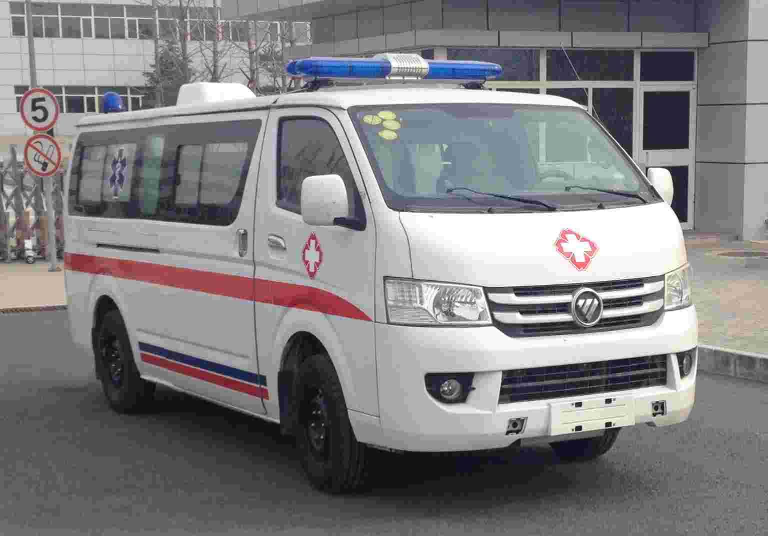 福田G7长轴汽油救护车