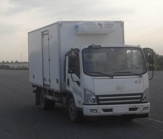解放虎威蓝牌4.2米冷藏车