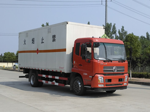 东风天锦气瓶运输车图片