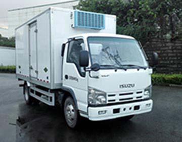 五十铃100P蓝牌4.2米冷藏车