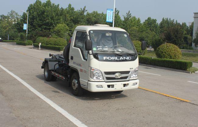 福田牌3方車廂可卸式垃圾車勾臂垃圾車垃圾車