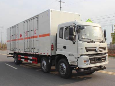 (廂長9.5米)東風易燃液體廂式運輸車
