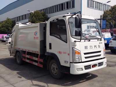 CLW5070ZYSCL5压缩式垃圾车
