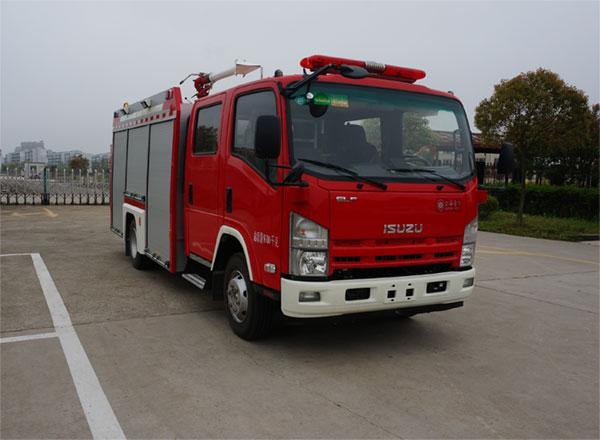 水罐消防车正规厂家(JDX5100GXFSG35/W5),厂家直销