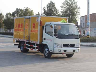 SCS5040XRYEV易燃液體廂式運輸車