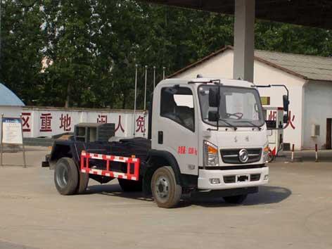 CLW5080ZXXE5车厢可卸式勾臂垃圾车