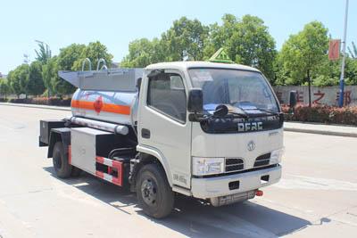 藍牌甲醇、酒精易燃液體罐式運輸車