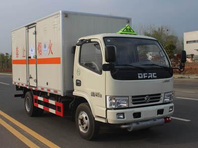 东风4.1米毒性和感染性物品厢式运输车