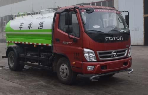 洒水车多功能东风牌厂家促销12吨洒水车价格一般多少钱