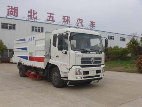 东风天锦HCQ5160TSLDL5扫路车