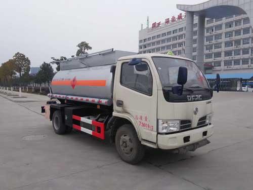 甲醇、酒精易燃液體罐式運輸車3.7噸
