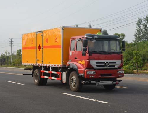 JHW5160XRYZ易燃液體廂式運輸車