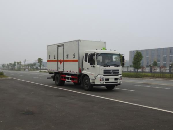 JDF5180XRYDFH5易燃液体厢式运输车