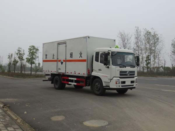 JDF5180XFWDFH5腐蚀性物品厢式运输车