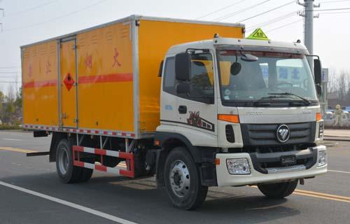 JHW5161XRQB易燃氣體廂式運輸車