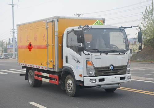 JHW5070XRQCDW易燃气体厢式运输车