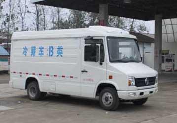 东风国五冷藏车(箱长3550米)