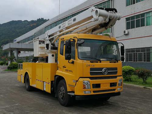 畅丰牌高空作业车(CFQ5140JGK5D)概述及工作原理