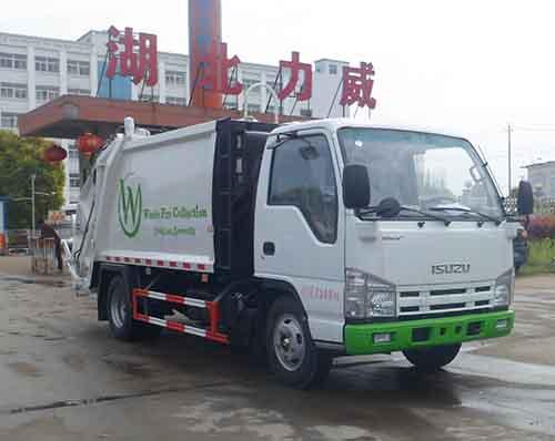 3吨澳门永利集团娱乐官网垃圾车