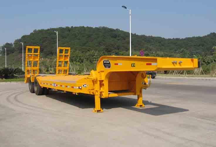 HLC9340TDP低平板半挂车