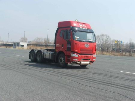 CA4250P66K24T1E5Z危险品运输半挂牵引车