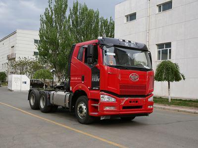 CA4250P66K24T1A1E5平头柴油半挂牵引汽车