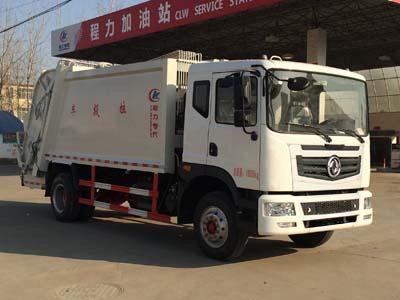 东风御虎压缩式垃圾车(国五10方)