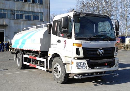 歐曼牌10噸灑水車(BJ5163GSS-AB)211馬力灑水車圖片