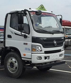 福田欧马可易燃气体厢式运输车