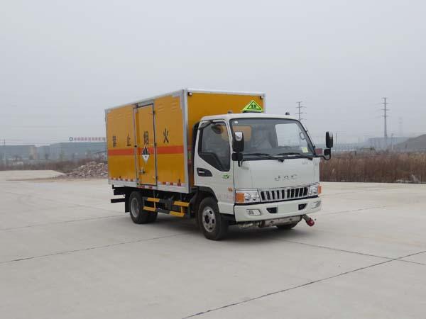(厢长4.2米)江淮杂项危险物品厢式运输车