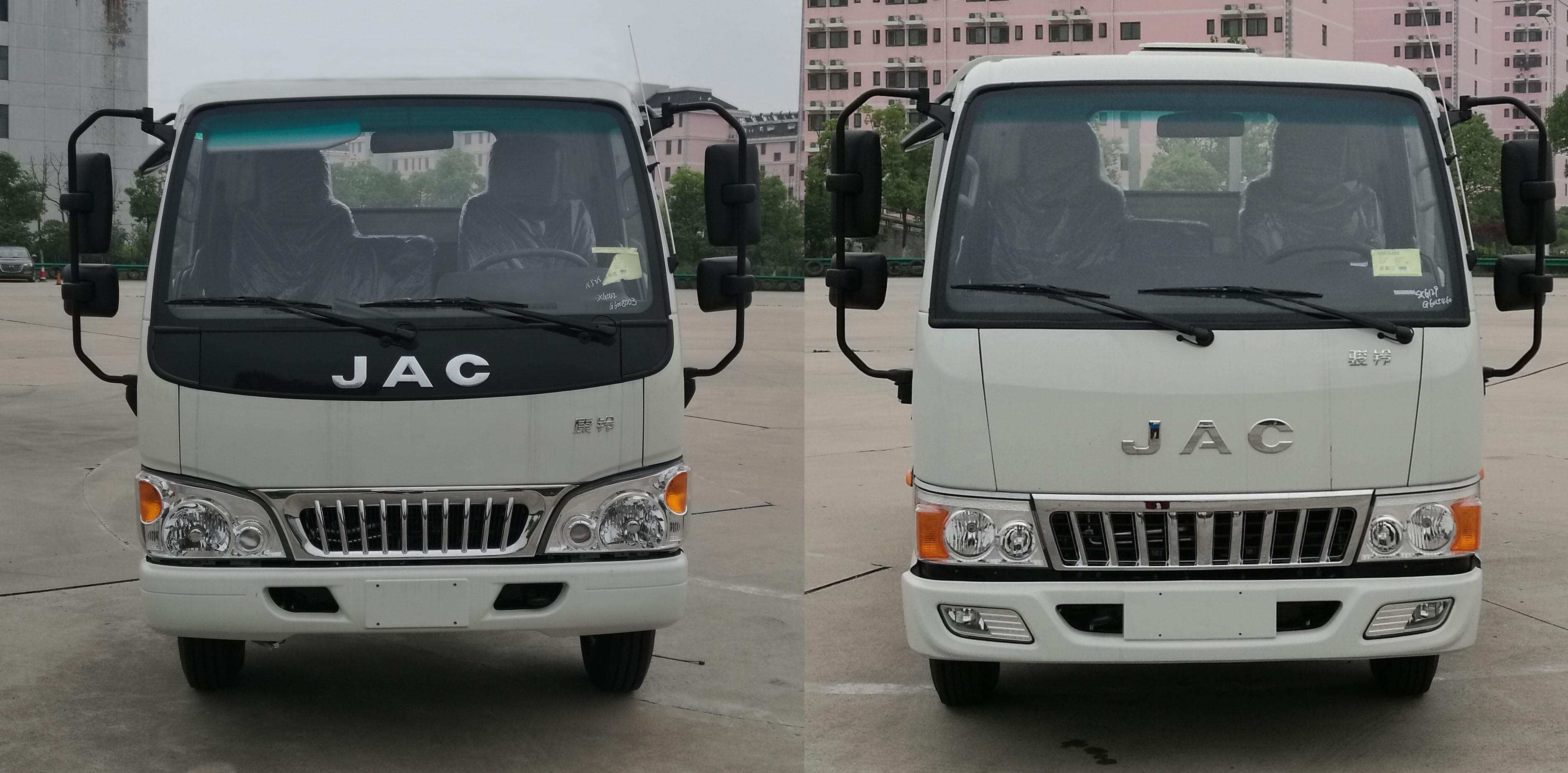 江淮压缩式垃圾车(4立方)
