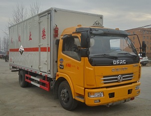 6噸腐蝕性物品廂式運輸車