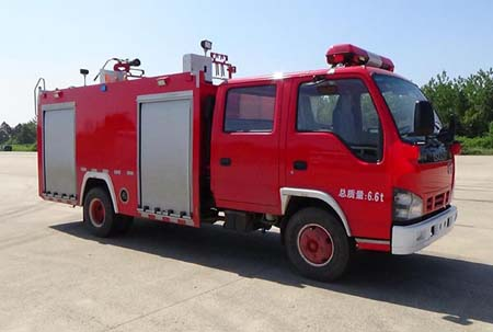 东风牌水罐消防车5吨水罐消防车价格厂家报价