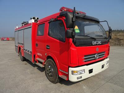 天河5吨水罐消防车