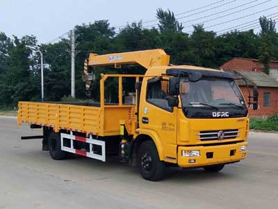 CLW5090JSQE5随车起重运输车