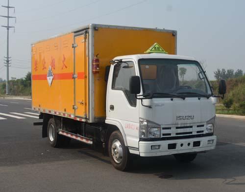 (厢长4.15米)江铃杂项危险物品厢式运输车图片