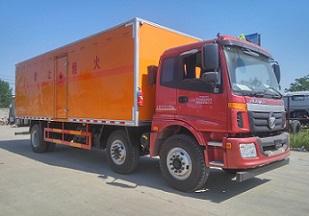 CLW5250XRYB5易燃液體廂式運輸車
