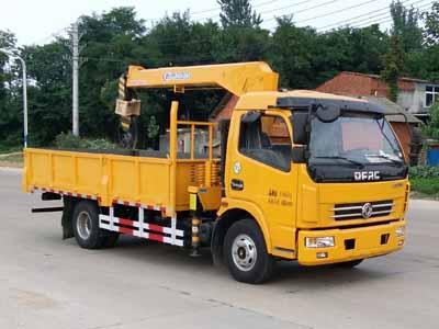 CLW5110JSQE5随车起重运输车