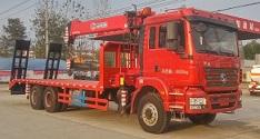 如何排空8吨随车起重运输车废旧液压油?