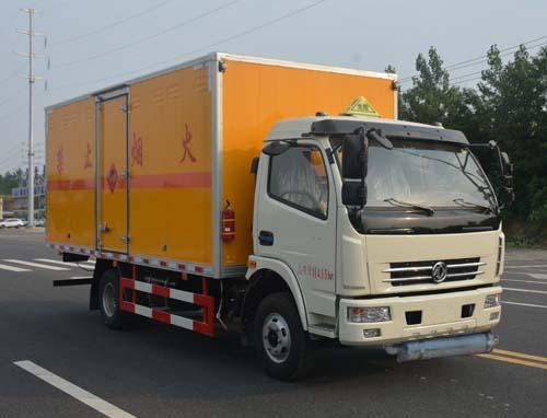 JHW5111XRYE易燃液體廂式運輸車