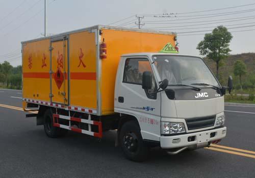 JHW5060XRYJ易燃液體廂式運輸車
