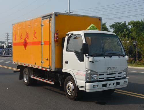JHW5040XRYQ易燃液體廂式運輸車